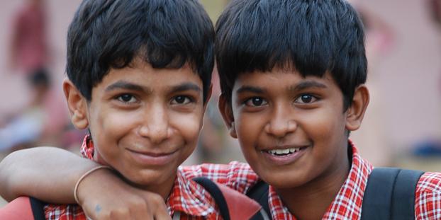 Indien_Gaja_Schüler