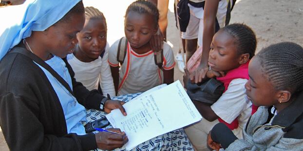 Schule Kongo Kolwezi